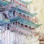 hanging temple 悬空寺